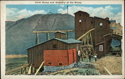 Culm Dump And Washery At The Mines