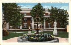 Annie Green Hall, North Texas College