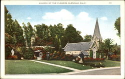 Church Of The Flowers Postcard