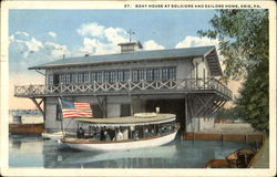 Boat House At Soldiers And Sailors Home