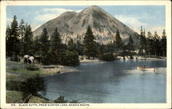 Black Butte, Shasta Route Sunfish Lake
