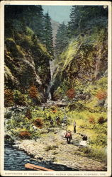 Sightseers At Oneonta Gorge