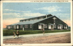 Army Y. M. C. A. Auditorium, U. S. National Army Contonment Camp Devens