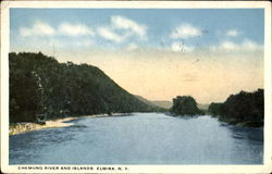Chemung River And Islands