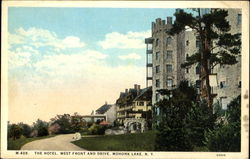 The Hotel, West Front and Drive