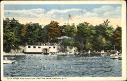 Bath House And Pavilion, Pastine Park
