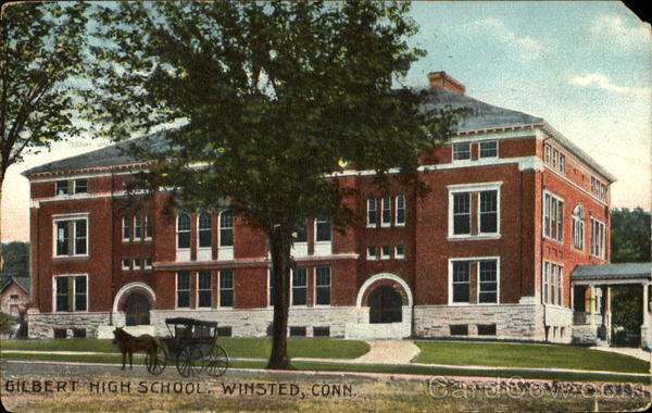 Gilbert High School Winsted Connecticut