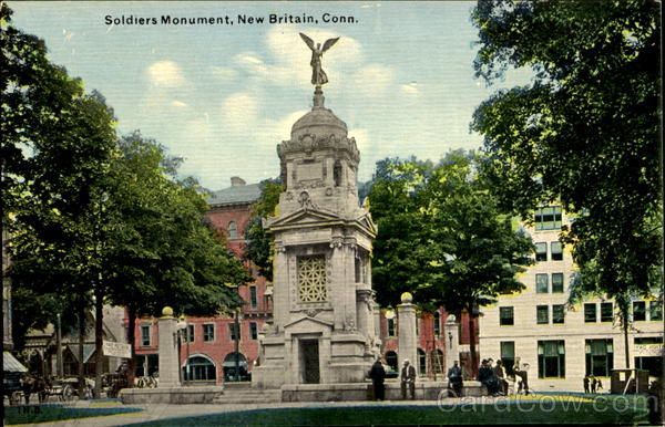 Soldiers Monument New Britain Connecticut