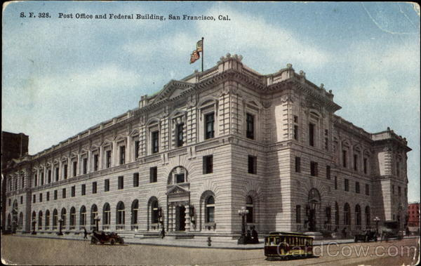 Post Office And Federal Building San Francisco California