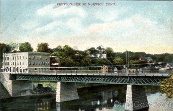 Preston Bridge Norwich Connecticut
