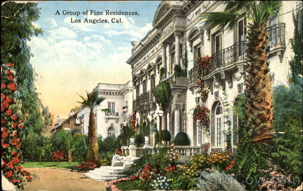 A Group Of Fine Residences Los Angeles California