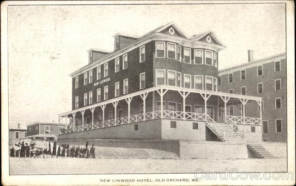 New Linwood Hotel Old Orchard Maine