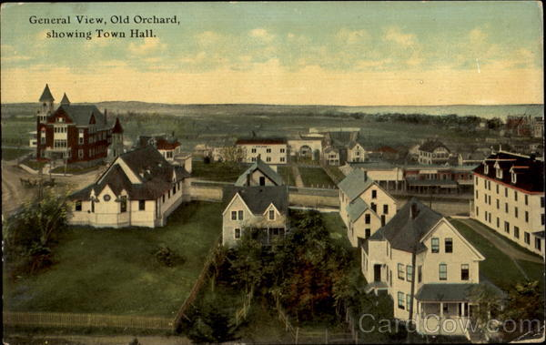General View Old Orchard Maine