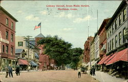 Colony Street From Main Street