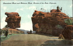 Steamboat Rock And Balance Rock
