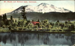 Mt. Shasta And Stewart Lake