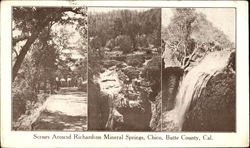 Scenes Around Richardson Mineral Springs, Butte County