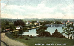 From Bay Of Naples Inn Postcard