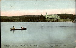 Bay Of Naples Inn Form Village Postcard
