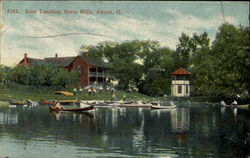 Boat Landing At Pine Grove, State Mills