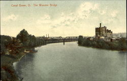 Canal, The Wooster Bridge Postcard