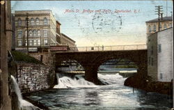 Main Street Bridge And Falls