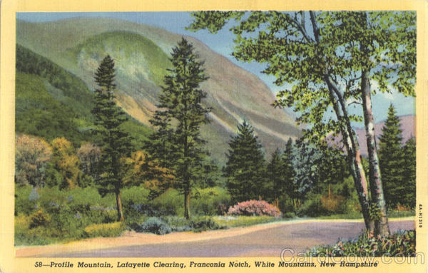 Profile Mountain, Lafayette Clearing, Franconia Notch White Mountains New Hampshire