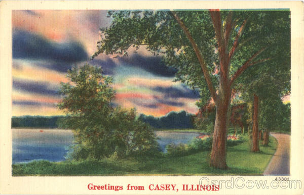 Greetings from Casey Illinois