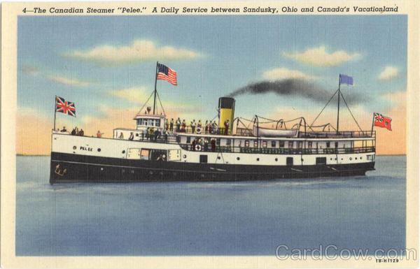 The Canadian Steamer Pelee Boats, Ships