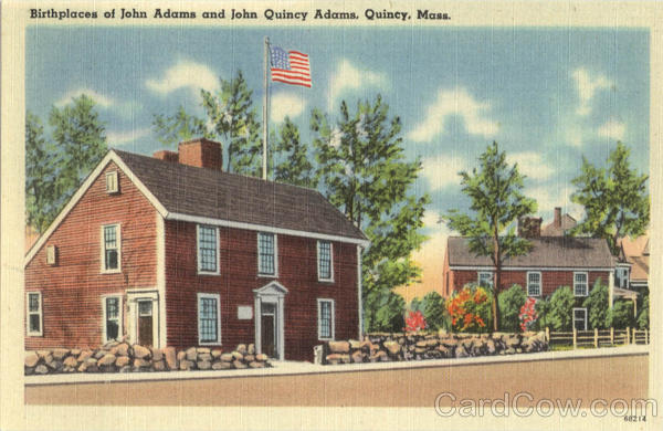 Birthplace of John Adams and John Quincy Adams Massachusetts