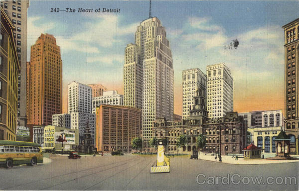 The Heart of Detroit Michigan