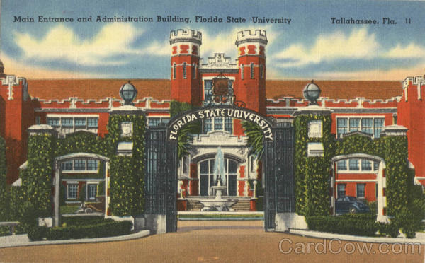Main Entrance and Administration Building, Florida State University Tallahassee