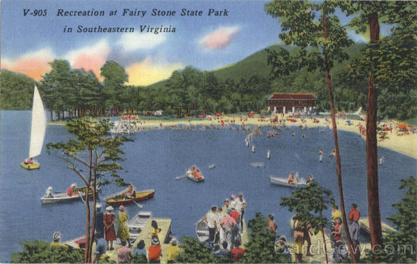 Recreation at Fairy Stone State Park Virginia
