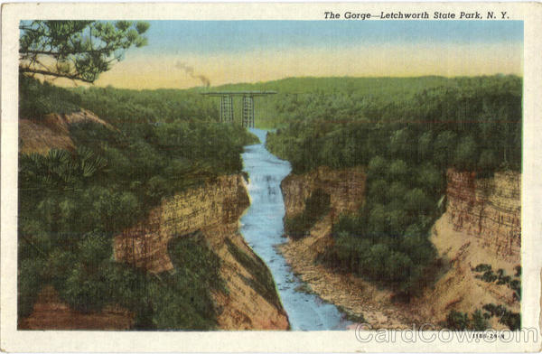 The Gorge-Letchworth State Park New York