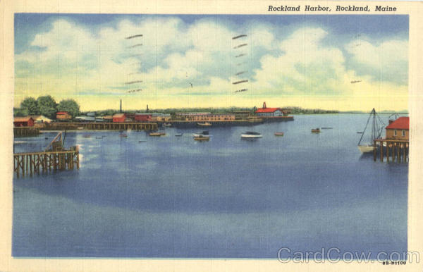 Rockland Harbor Maine