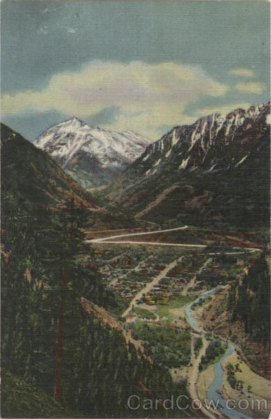 Ouray - Mt. Abram Scenic Colorado