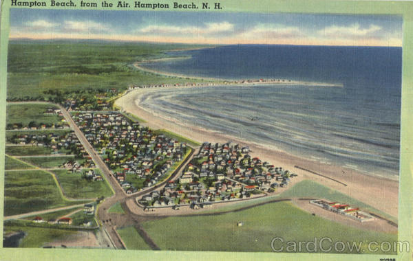 Hampton Beach, from the Air New Hampshire