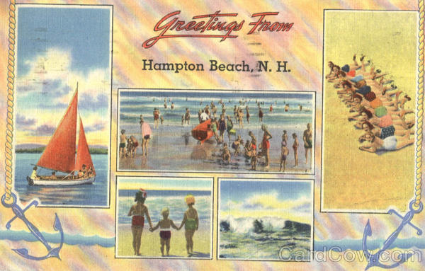 Greetings From Hampton Beach New Hampshire
