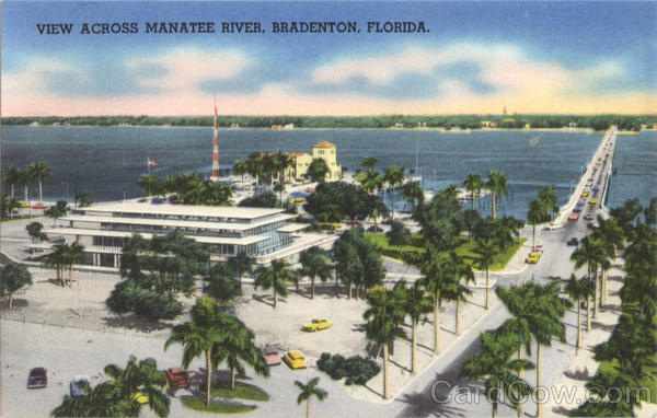 View Across Manatee River Bradenton Florida
