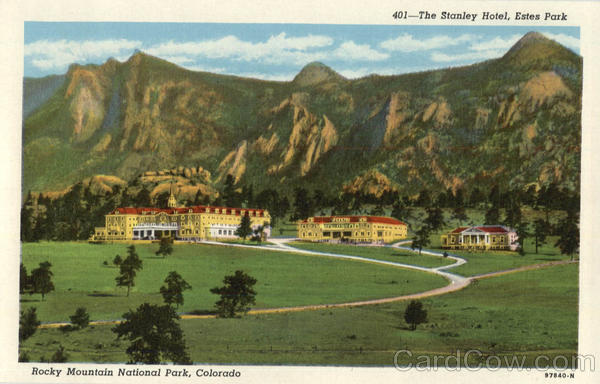 The Stanley Hotel, Estes Park Rocky Mountain National Park Colorado