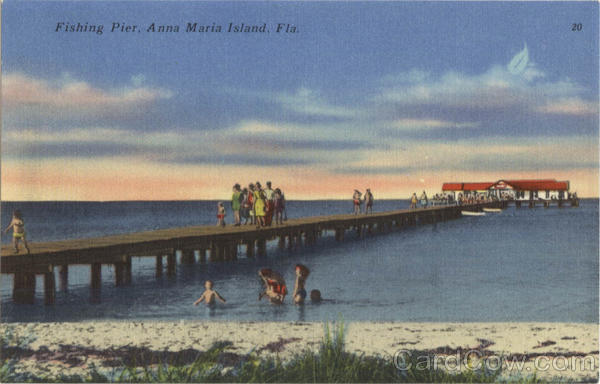 Fishing pier anna maria island fl for Fishing piers in florida