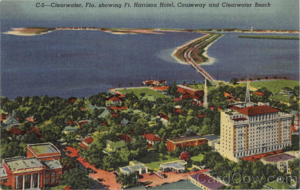Clearwater showing Ft. Harrison Hotel Florida
