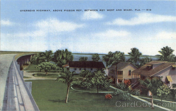 Overseas Highway, Pigeon Key Florida