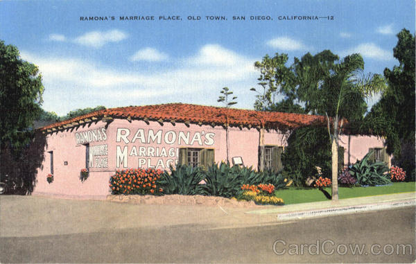 Ramona's Marriage Place, Old Town San Diego California