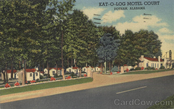 Kat-O-Log Motel Court Dothan Alabama