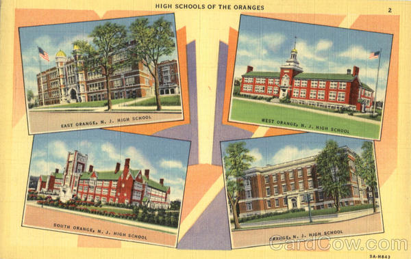 High Schools of the Oranges New Jersey