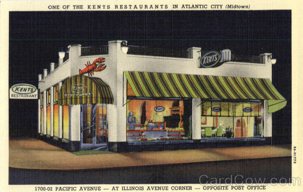 One of the Kents Restaurants Atlantic City New Jersey