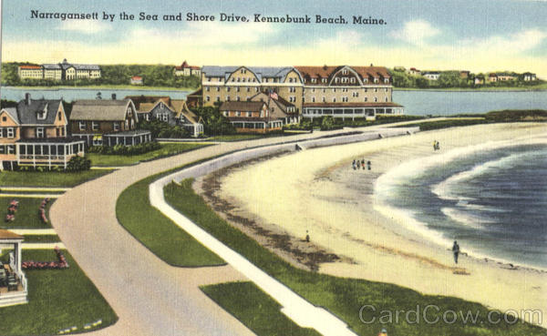 Narragansett by the Sea and Shore Drive Kennebunk Beach Maine