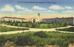 Loretta College and Academy Postcard