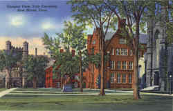 Campus View, Yale University Postcard